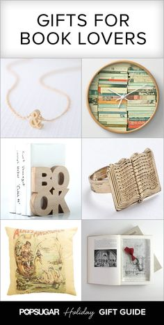 Literary-themed gifts for all of your book-loving loved ones!