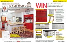 Don't miss our double page promo in Home | Tuis magazine in the November issue. Stand a chance to win kitchen units of your choice to the value of R50 000. See competition for details.