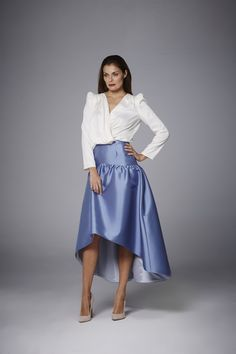 Coosy - FALDA VENICE Waist Skirt, High Waisted Skirt, Dressing, Women's Fashion, Chic, Skirts, Outfit, Fall Collections, Midi Skirts