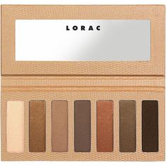 LORAC Skinny Palette, Nude 0.45 oz (12.88 g) (105 DKK) ❤ liked on Polyvore featuring beauty products, makeup, eye makeup, eyeshadow, beauty, nude eyeshadow, lorac, matte eye shadow, lorac eyeshadow and shimmer eyeshadow