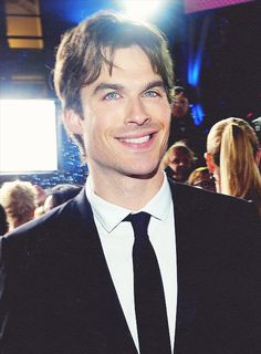 Ian Somerhalder at People's Choice Awards Red Carpet - Jan 9, 2013/ Oh my word...CUTE/ADORABLE/SWEETY <3