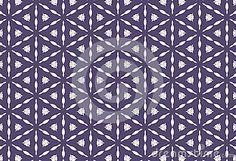 Tigons mosaic pattern