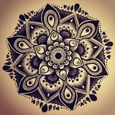 Mandala // tattoo inspiration...