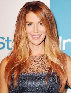 """Instead of just doing the dark to blond fade, I thought it would be great to try the #ombre look on a redhead,"" said colorist David Stanwell, who created #PoppyMontgomery's look. ""It gives the hair so many dimensions."" http://news.instyle.com/photo-gallery/?postgallery=130026#"