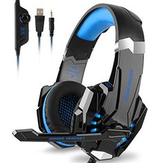 Buy Stereo Gaming Headset for PC, Xbox One Over Ear Bass Gaming Headphones with Mic, LED Light,Bass Surround for Computer Laptop Mac Nintendo Switch Games -Red Cheap Headphones, Computer Headphones, Headphones With Microphone, Headphone With Mic, Gaming Computer, Laptop Computers, Wireless Headphones, Sports Headphones, Computer Laptop
