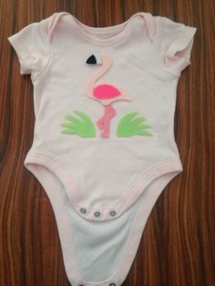 Felt flaming application on baby clothes