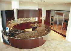Because my dad is a granite countertop fabricator, I plan to have the most impressive kitchen imaginable.
