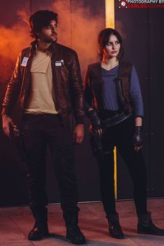 A Gorgeous Jyn Erso Cosplay
