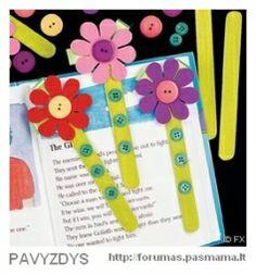 "Plokščios Medinės Lazdelės ""Flat lolly sticks - lollipop popsicle"", 10vnt. | SpalvuNamai.lt"