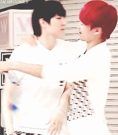 VIXX- I love how Leo's just like ew, no get away from me