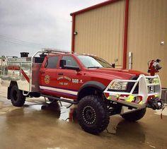 Dodge Brush Truck built by Skeeter!