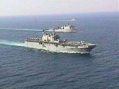 "Saipan LHA-2 sailing the high seas. Do you have your ""sea legs""?    #uss-saipan-lha2 #sailing-ship #navy"
