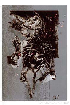 Yoji Shinkawa Metal Gear Solid 2: Sons of Liberty Yoji Shinkawa  ~ Synteza historii i sztuki