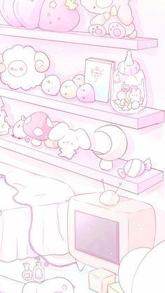 Cute Pastel Wallpaper, Soft Wallpaper, Cute Wallpaper For Phone, Cute Anime Wallpaper, Aesthetic Pastel Wallpaper, Wallpapers Kawaii, Cute Cartoon Wallpapers, Doodles Kawaii, Kawaii Art