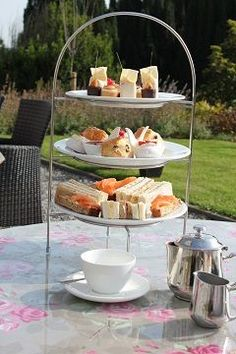 Outdoors Afternoon Tea Afternoon Tea, Outdoors, Table Decorations, Outdoor Rooms, Off Grid, Outdoor, Dinner Table Decorations