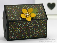 Stampin' Up! Demonstrator Pootles -Way Back Wednesday - Pentagonal Treasure Chest Keepsake Box Morning everyone! Well I'm very excited to be sharing this project today. I'd sort of forgotten about...