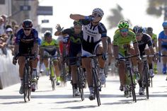 Gallery: 2014 Dubai Tour, stage 2 - There was no denying Marcel Kittel on Thursday in Dubai. The German overpowered Taylor Phinney to win stage 2. Peter Sagan was second. Photo: Tim De Waele | TDWsport.com