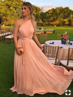 A Line One Shoulder Flowy Chiffon Long Bridesmaid Dresses Blush A Line One Shoulder Flowy Chiffon Long Bridesmaid Dresses – .ukBlush A Line One Shoulder Flowy Chiffon Long Bridesmaid Dresses – . Party Gowns, Party Dress, Blush Bridesmaid Dresses Long, Evening Dresses, Prom Dresses, Dress Prom, Chiffon Dresses, Long Dresses, Simple Dresses