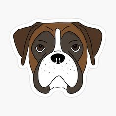 Your place to buy and sell all things handmade Dog Mom Gifts, Dog Lover Gifts, Dog Lovers, Boxer Mom, Cigarette Box, Waterproof Stickers, Pet Loss, Dog Quotes, Dog Art
