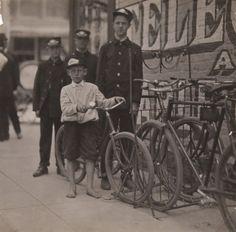 Western Union Messengers, Danville, Virginia byLewis Wickes Hine ca.1911