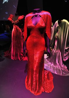 The Bride Wore Red - Joan Crawford as Anni Pavlovitch Hollywood Costume - press view held at the Victoria and Albert Museum. London, England - 17.10.12 Daniel Deme/WENN.com
