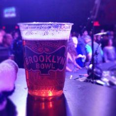 Photo by #crazyhorse037 // #NYC #Brooklyn #Concerts #BrooklynBowl #livemusic #Beer @Brooklyn Brewery