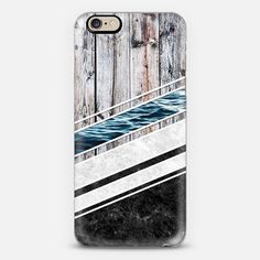 Striped Materials of Nature I - Classic Grip Case #wood #wooden #marble #stone #sea #ocean #stripe #stripes #striped #nature #texture #iphone #case