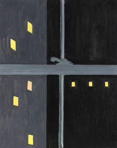 Lois Dodd (American, b.1927) Night Window