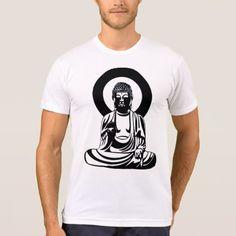 The Buddha: Men's American Apparel T-Shirt  $18.00  by Spondulix  - cyo customize personalize diy idea