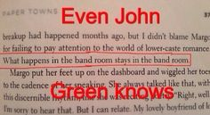 Even John Green knows