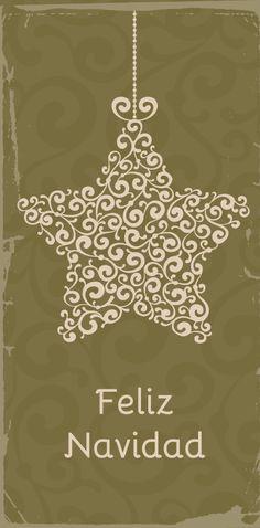 Feliz navidad para imprimir gratis-Imagenes y dibujos para imprimir                                                                                                                                                                                 Más