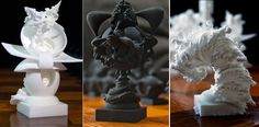 Fractal Artist Shows Strategy in Creating 3D Printed Surreal Chess Set http://3dprint.com/40665/3d-printed-surreal-chess-set/