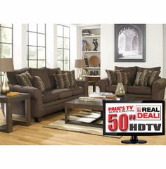 Blair Power Reclining Leather Sofa Loveseat 32 Tv From Gardner White Furniture Furniture