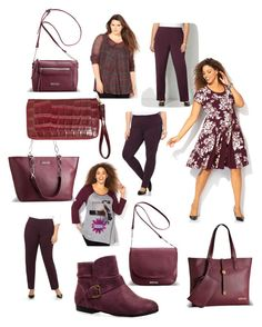 Marsala - Pantone Color of the Year by avenue365 on Polyvore featuring Avenue