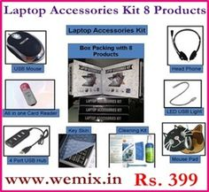 laptop kit Laptop Accessories Kit 8 Products Rs. 399