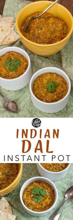 Instant pot Indian Dal vegan This super easy Indian Dal is an obvious choice for a quick vegan dinner This recipe makes the best homemade Dal ever so authentic without c. Indian Dal Recipe, Vegan Indian Recipes, Vegetarian Recipes, Healthy Recipes, Ethnic Recipes, Korean Recipes, Chinese Recipes, Ww Recipes, Healthy Meals