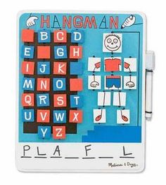 Flip to win Hangman. Great game for a beginning reader, or to practice weekly spelling words.