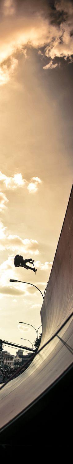 Get on board. #redbull #skateboarding