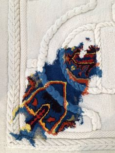 © Carlo Volpi I think we should feature the the resurgence of textile wall hangings.