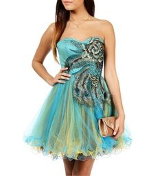 Balbina-Peacock Prom Dresses