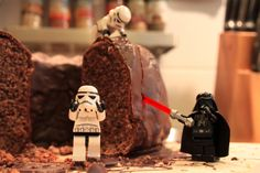 It's a trap! - Now I know where my cake goes when I'm not in the kitchen. #LEGO #StarWars