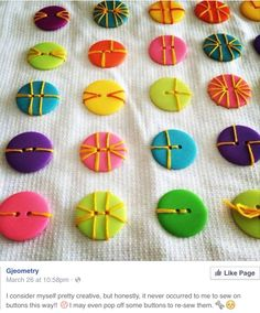 35 button crafts – Diy and Crafts Fabric Crafts, Sewing Crafts, Sewing Projects, Craft Projects, Craft Ideas, Fun Ideas, Creative Ideas, Creative Crafts, Quilting Projects