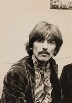 George Harrison at Sgt. Pepper launch, June 1967