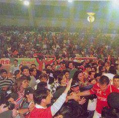 Bsquetebol - A 25 de abril de 1995, após bater o FCPorto por 75-56, o SLBenfica sagrava-se heptacampeão nacional de basquetebol.