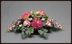 Grabdekoration - Grabgestecke - Grabschmuck XL Xmas Flowers, Funeral Flowers, Flower Decorations, Floral Arrangements, Floral Design, Centerpieces, Floral Wreath, Wreaths, Inspiration