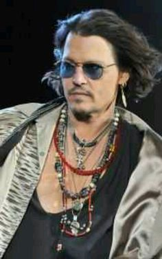 Johnny Depp... fashion inspiration extraordinaire