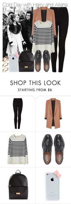 """""""Cold Day with Harry and Ariana"""" by elise-22 ❤ liked on Polyvore featuring Topshop, Oasis, Organic by John Patrick, Dune, STELLA McCARTNEY and ASOS"""