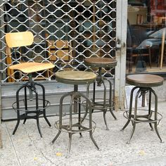 Toledo Stools and Chairs | cityFoundry