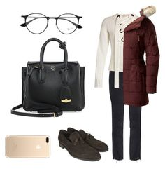 """""""Untitled #272"""" by syshrn on Polyvore featuring M.i.h Jeans, Joseph, SOREL, Henderson, Ray-Ban and MCM"""