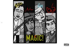 Hey @wowismarissa, @ournameisMAGIC just signed your fan art from the #AMAs!